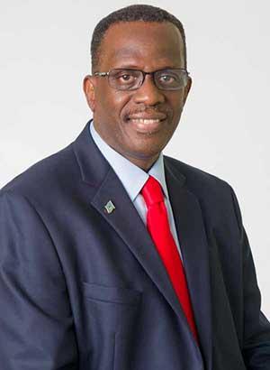Image of Opposition Leader Philip J. Pierre