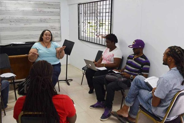 Image: School of Music training