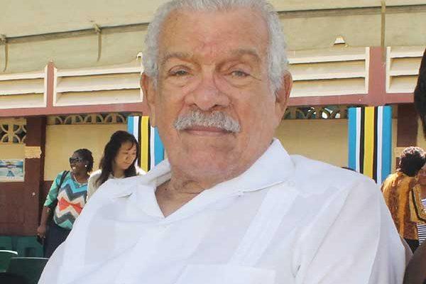 Image of the late Nobel Laureate, Sir Derek Walcott