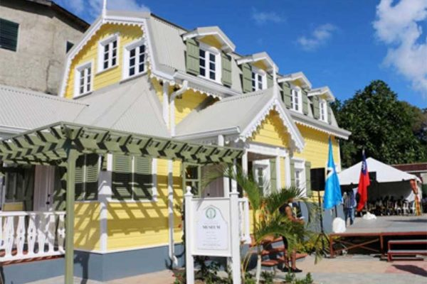Image: The Walcott House in Castries.