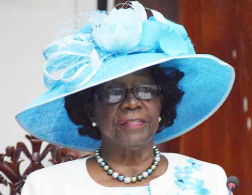 Image of Governor General Dame Pearlette Louisy
