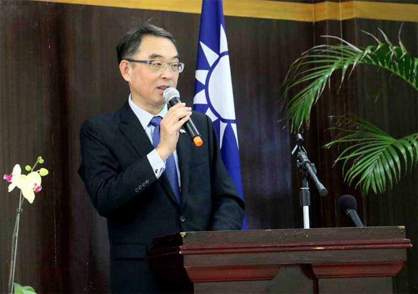 Image of Douglas Shen, Ambassador of the Republic of China (Taiwan) to Saint Lucia.