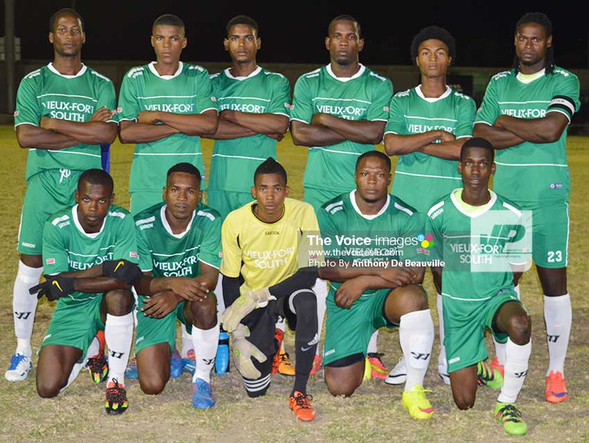 Image of Vieux Fort South footnall team