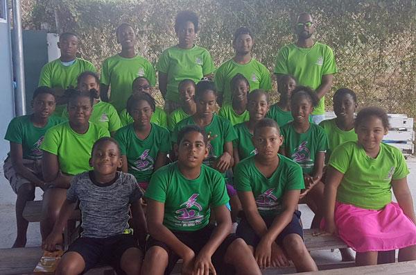 img: Lightning Aquatics Swim Club participants at 18th RHAC Invitational. (Photo: LA)