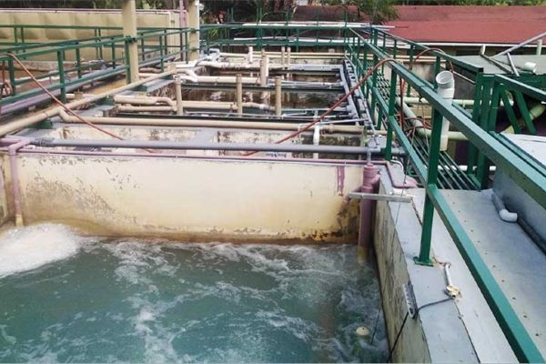 Image: Water treatment at Sandals.