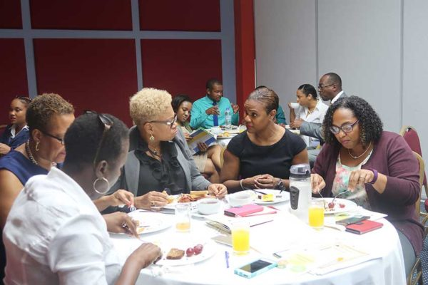 Image: Attendees at this year's breakfast.