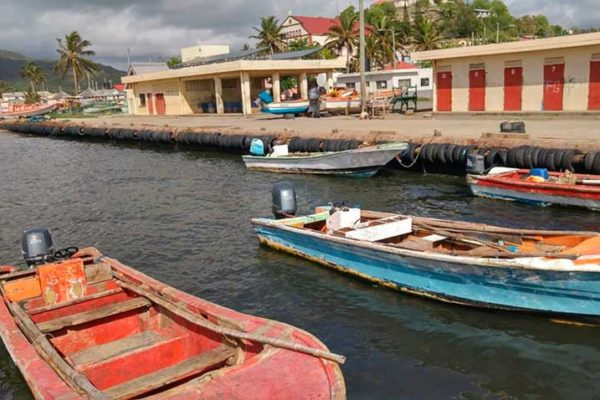 Image of Dennery Fish Landing Bay