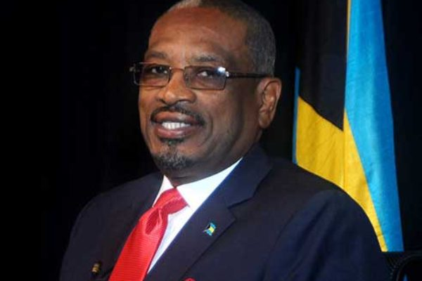 Image of Dr. Hubert Minnis