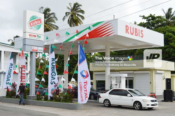 Image: RUBIS Balata The newly-reopened service station at Balata. (Photo: Anthony De Beauville)