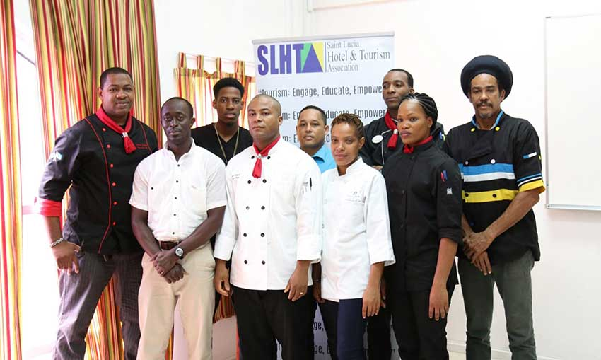 Image: The Saint Lucia Culinary Team.