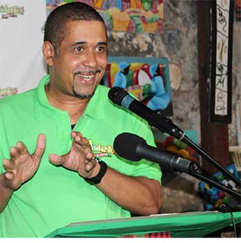 Image: Thomas Leonce, Chief Executive Officer of Events St. Lucia