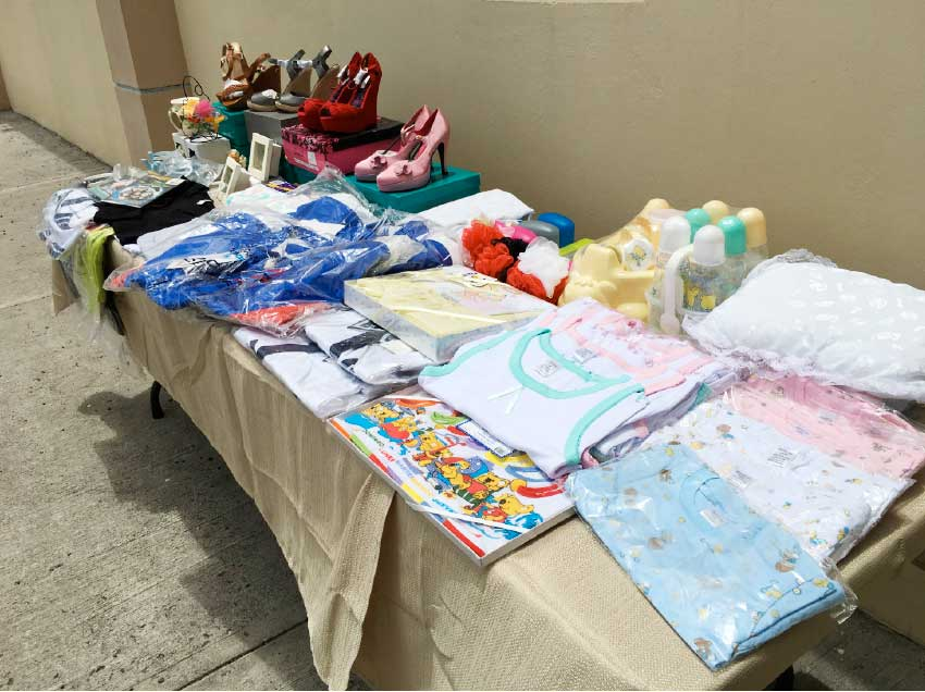 Image: An assortment of the items donated by Simplyhelp Foundation.