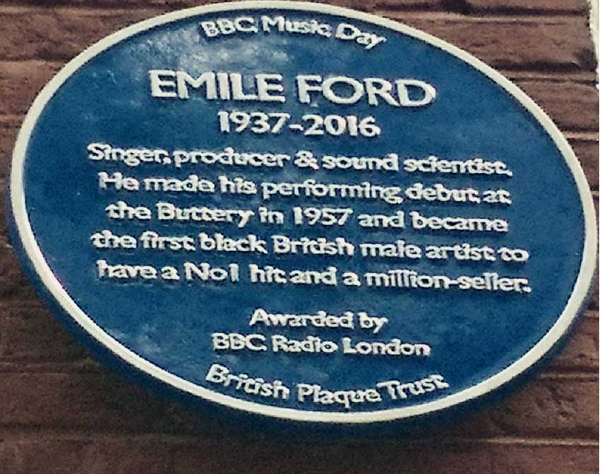 Image of Forde's Blue Plaque