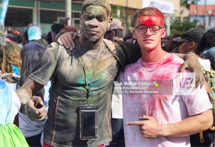 Image of Josh (right) having fun. [PHOTO: Rochelle Gonzales]