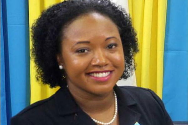Image: Senior Communications Officer in the Office of the Prime Minister, Nicole Mc Donald