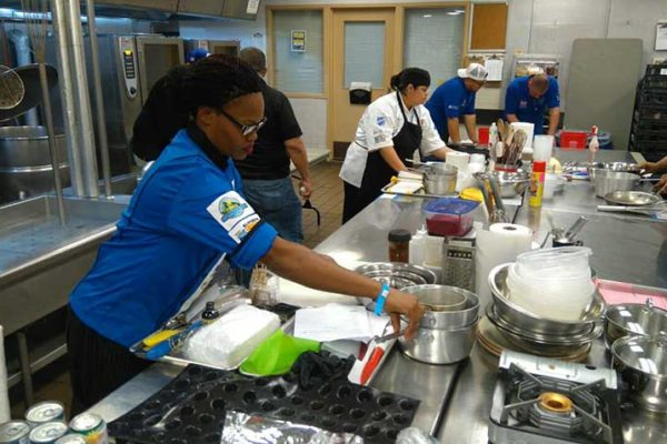 Image: Sandals and Saint Lucia chefs at the recently-concluded Taste of the Caribbean culinary competition in Miami.