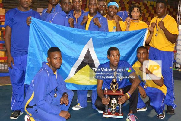 Image: Team Saint Lucia. (Photo: Anthony De Beauville)