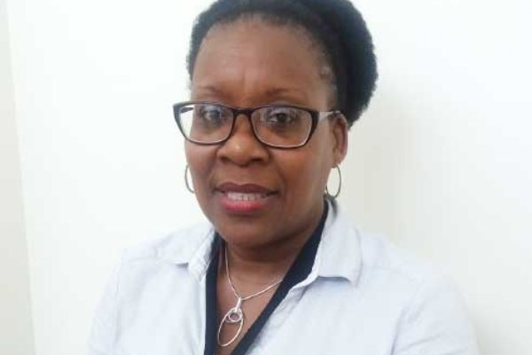Image: Chief Health Planner in the Ministry of Health (MoH), Xysta Edmund