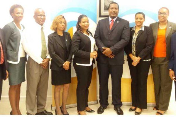 Image of 1st National Bank executives.