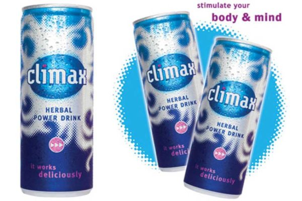Image of Climax Energy drinks