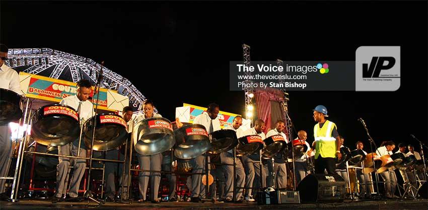 Image: Courts Babonneau Steel Orchestra