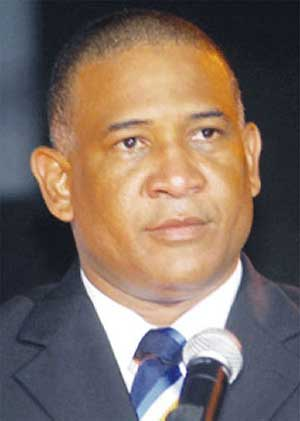 Image of Castries South MP, Ernest Hilaire