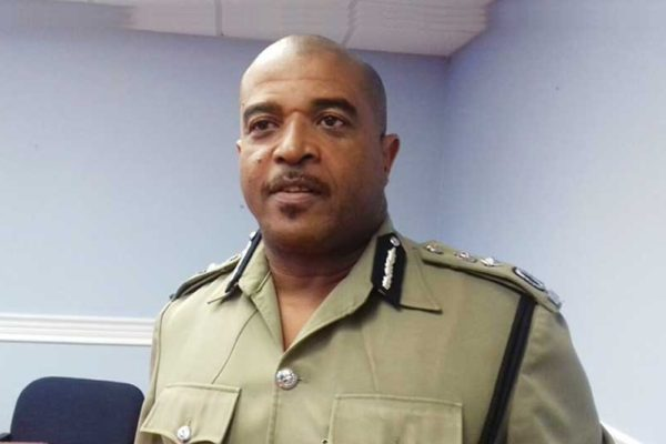 Image of Acting Police Commissioner Milton Desir [PHOTO: PhotoMike]