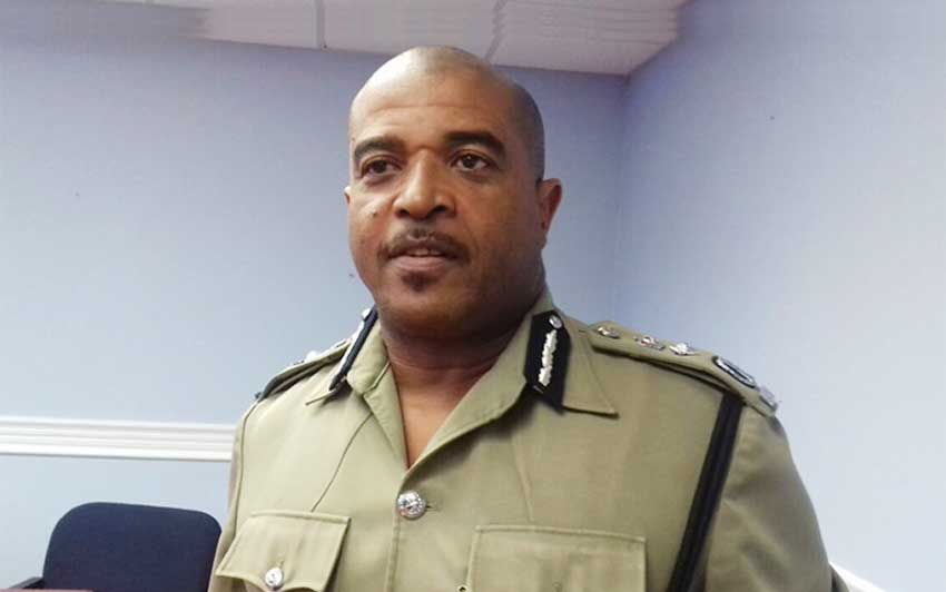 Image of Officer in Charge of the Police Force, Milton Desir [PHOTO: PhotoMike]