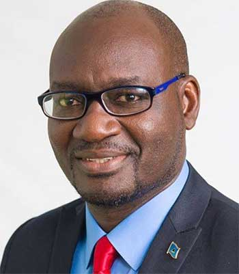 Image: PARLIAMENTARY Representative for Vieux Fort North, Moses Jn. Baptiste