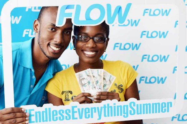 Image: Ruby Thomas added a data plan of 1GB on Saint Lucia's fastest network and became a winner! #Transcend #EndlessEverythingSummer.