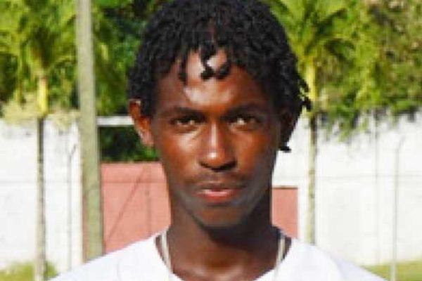 Image of Windward Islands Dane Edward scored 39 against Trinidad and Tobago (PHOTO: Anthony De Beauville)