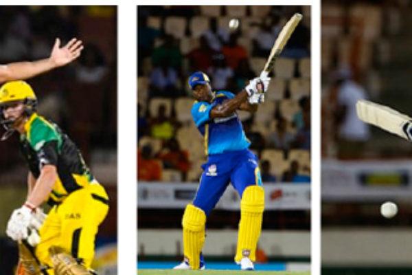 IMG: Sohail Tanvir picked up 5 for 3; Kieron Pollard and Shane Watson. ( Photo: CPL)