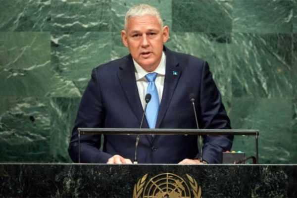 Image of Allen Chastanet, Prime Minister of Saint Lucia
