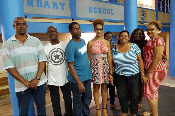 IMG: Members of the newly-elected Gros Islet SLP Constituency Group.