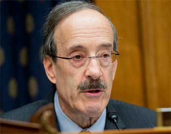 Image of Representative Eliot L. Engel, Ranking Member of the House Committee on Foreign Affairs