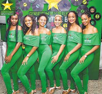 Image - The Heineken Ladies were on point.