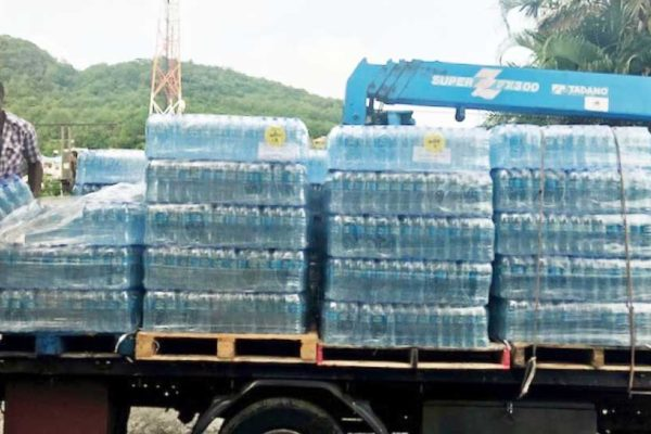 Image: Water is one of the critical needs for the people of Dominica at this time.