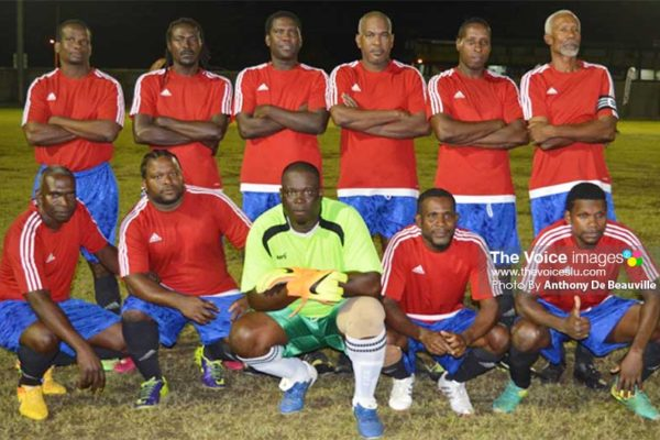 Image: Canaries had a 2-0 win over Choiseul. (PHOTO: Anthony De Beauville)