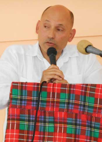 Image of Cuba's Ambassador to St. Lucia, Jorge Soberon.