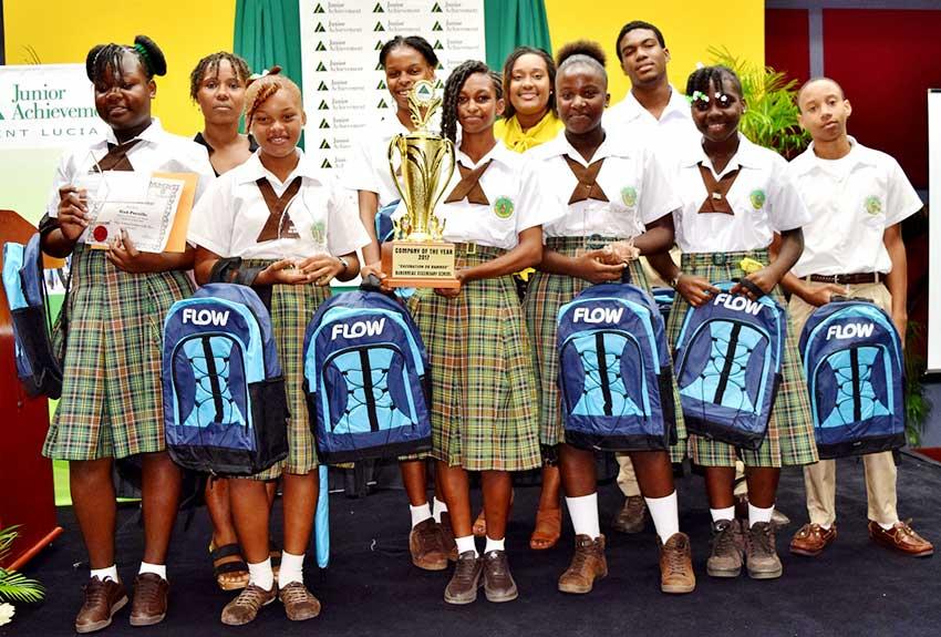Image of Junior Achievement Winners