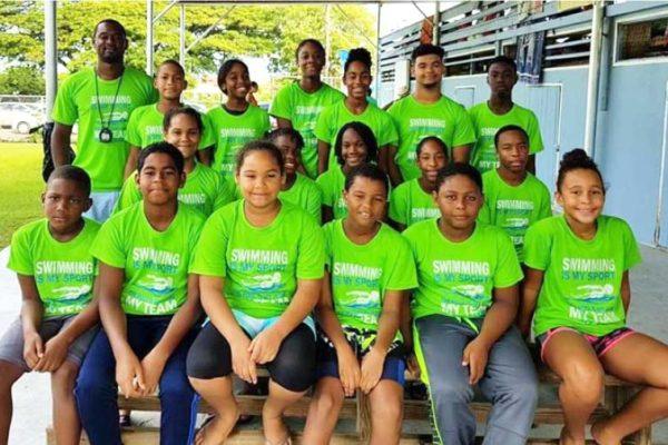 Image: Lightning Aquatic Swim Team at Capri Sun Meet. (Photo: LASC)