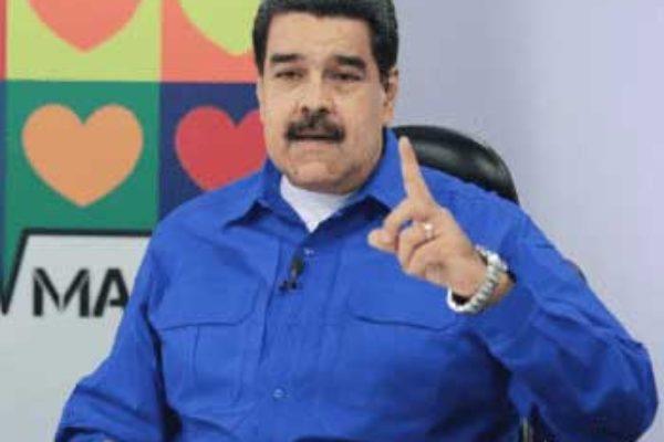 Image of Venezuelan President, Nicolas Maduro.
