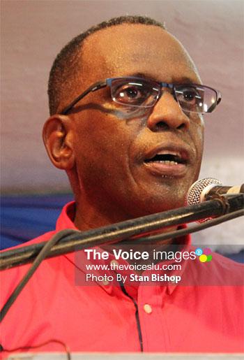 Image of SLP Political Leader, Philip J. Pierre