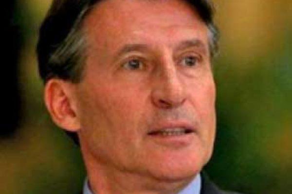 Image of IAAF President Lord Sebastian Coe