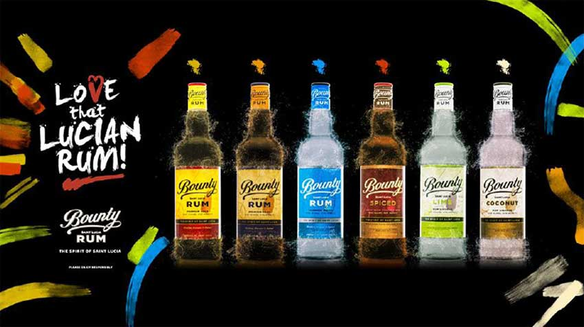 Image: The Bounty Rum Range.
