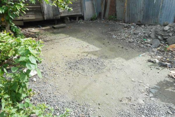 Image: The area where Keith Smith's body was found.