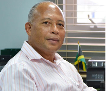 Image of Managing Director of Sandals Resorts St. Lucia, Winston Anderson