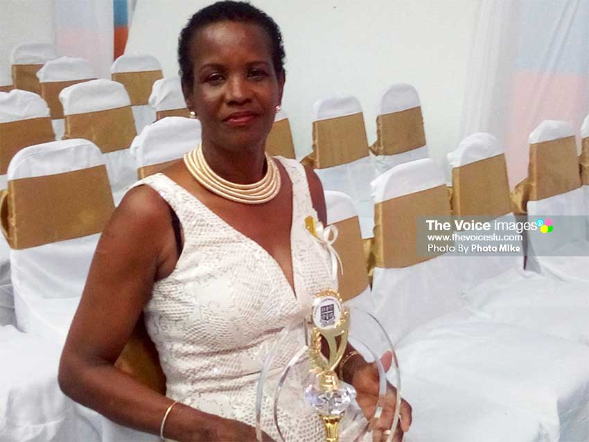 Image of Annette Xavier Charles, holder of the Mayor's Special Award for Excellence. (PhotoMike)