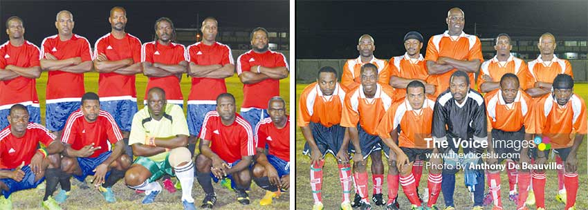Image: (L-R) Canaries and Vieux Fort North, like LaboweConnextions, are unbeaten. (PHOTO: Anthony De Beauville)
