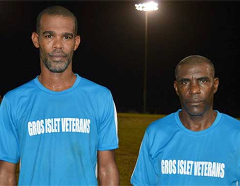 Image of Shermon Sylvester and Urban Augustin